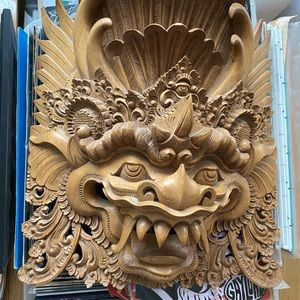 Other - Hand-Carved Balinese mask